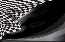 Checkered вектор флага гонки Стоковые Изображения