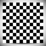 Checkered геометрическая картина Абстрактная uncolored картина с squ иллюстрация вектора