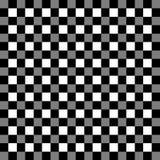 Checkered геометрическая картина Абстрактная uncolored картина иллюстрация штока