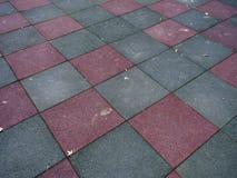 Checkered гудронированное шоссе Стоковые Изображения RF