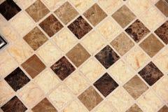 Checkered диаманты картины плитки стоковые изображения