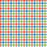 Checkered картина скатертей красочная - бесконечно бесплатная иллюстрация