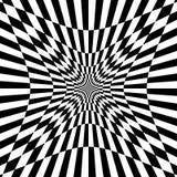 Checkered картина с эффектом искажения Деформированный, солдат нерегулярной армии ch Стоковое Изображение RF