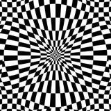 Checkered картина с эффектом искажения Деформированный, солдат нерегулярной армии ch Стоковая Фотография RF