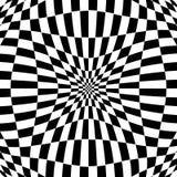 Checkered картина с эффектом искажения Деформированный, солдат нерегулярной армии ch Стоковые Фотографии RF