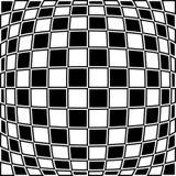 Checkered картина с эффектом искажения Противоположная граница цвета бесплатная иллюстрация
