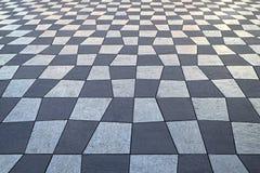 Checkered картина Стоковое Изображение