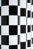 Checkered колоннада Стоковые Фотографии RF