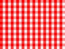checkered красное традиционное Стоковое Изображение RF