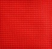 checkered красный цвет ткани Стоковые Фотографии RF
