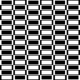 Checkered круговой элемент Абстрактный monochrome график с squ Стоковое Изображение RF
