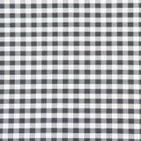 Checkered крупный план ткани, текстура скатерти Стоковые Фотографии RF