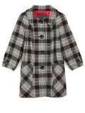 checkered пальто Стоковая Фотография