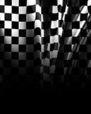 Checkered предпосылка Стоковые Фотографии RF