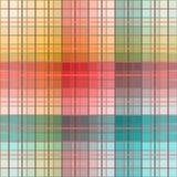 Checkered предпосылка, безшовная картина Стоковое Изображение RF