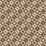 Checkered предпосылка ткани шотландки коричневая картина безшовная иллюстрация вектора