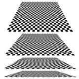 Checkered самолеты Стоковые Изображения RF