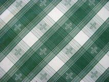 Checkered скатерть - фольклорная картина стоковое фото