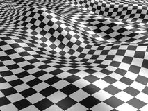 Checkered текстура флага. Стоковое Изображение