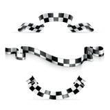 checkered тесемки Стоковое Изображение RF