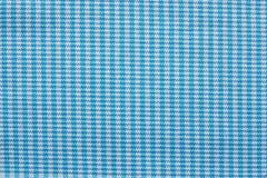 Checkered ткань голубого и белого цвета Стоковое Фото