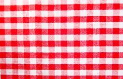 Checkered ткань Стоковая Фотография RF