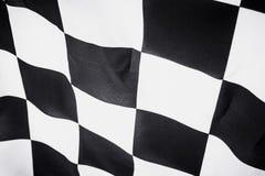 Checkered флаг, предпосылка гонки конца, конкуренция Формула-1 Стоковые Изображения