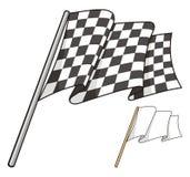checkered флаг Стоковое Изображение