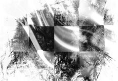 Checkered флаг иллюстрация вектора