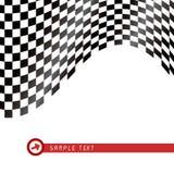 checkered флаг Стоковая Фотография RF