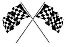 Checkered флаги Стоковое фото RF