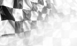 checkered флаг Стоковые Фотографии RF
