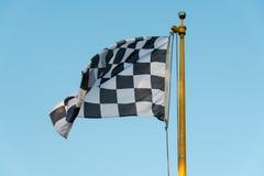 checkered флаг Стоковые Изображения RF