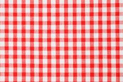checkered скатерть Стоковое фото RF