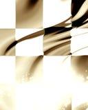 checkered участвовать в гонке флага Стоковое Изображение