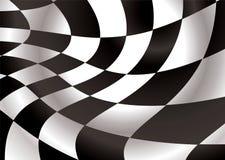 Checkered Abdeckstreifen Lizenzfreie Stockfotos