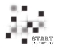 Checkered abstract background Stock Photo