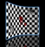 Checkered  art composition Royalty Free Stock Photos