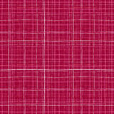 Checkered backdrop. Autumn theme. Abstract seamless pattern. Dark red background. Wavy background. Endless texture. Can be used for wallpaper, pattern fills Stock Illustration