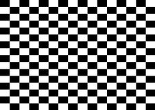 Checkered background. Black and white checkered background royalty free illustration