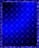 Checkered Background Frame Illustration Royalty Free Stock Images