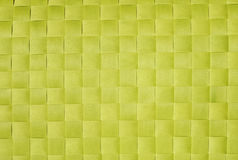 Checkered background. Light green checkered background of interwoven strips Royalty Free Stock Photography