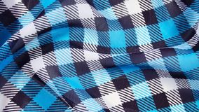 Checkered background. Beautiful blue and black checkered background Royalty Free Stock Photos