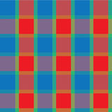 Checkered background blue green Stock Image
