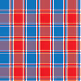 Checkered background blue red Royalty Free Stock Image