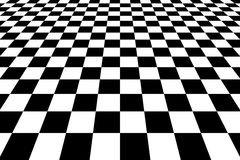 Free Checkered Background In Perspective Royalty Free Stock Photography - 63555647