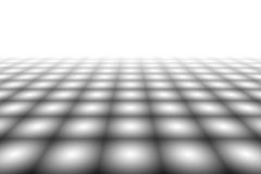 Checkered Background In Perspective Royalty Free Stock Photos