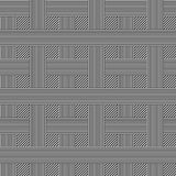 Pattern. Checkered background, seamless pattern - vector illustration Royalty Free Stock Images