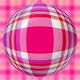 Checkered balls Stock Photography