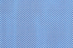 Checkered Blue Texture Stock Photo